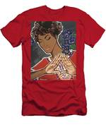 Violets And Dashiki Men's T-Shirt (Athletic Fit)