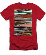 Weathered Roots Abstract Men's T-Shirt (Athletic Fit)