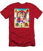White Jambhala  2 Men's T-Shirt (Athletic Fit)