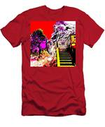 Wild Goddess At Kashi Men's T-Shirt (Athletic Fit)