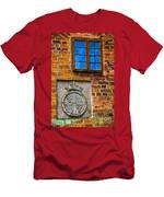 Window With Shield Men's T-Shirt (Athletic Fit)