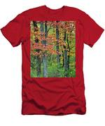 Windy Day Autumn Colors Men's T-Shirt (Athletic Fit)