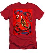 Wine Jazz Men's T-Shirt (Athletic Fit)