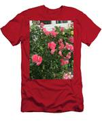 Winery Roses  Men's T-Shirt (Athletic Fit)