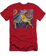 Zebradelic Men's T-Shirt (Athletic Fit)