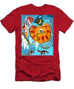 Chicken Men's T-Shirt (Athletic Fit)