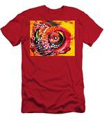 Abstract Lion Fish Men's T-Shirt (Athletic Fit)