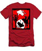 Arrow Shot Bird Men's T-Shirt (Athletic Fit)
