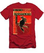 Black Ivory Rabbit Men's T-Shirt (Athletic Fit)