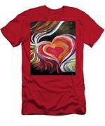 Black Love Is . . . Men's T-Shirt (Athletic Fit)