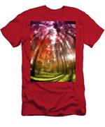 Colorful Trees Vii Men's T-Shirt (Athletic Fit)