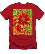 Coreopsis Abstract Men's T-Shirt (Athletic Fit)