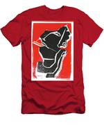I Was Born In A Mine Woodcut 7 Men's T-Shirt (Athletic Fit)