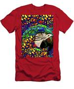 Macaw High II Men's T-Shirt (Athletic Fit)