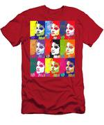 Michael Jackson Andy Warhol Style Men's T-Shirt (Athletic Fit)