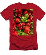 Red Radishes Men's T-Shirt (Athletic Fit)