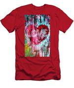 Saint Valentines Day Men's T-Shirt (Athletic Fit)