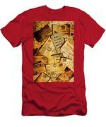 Sentimental Writings Men's T-Shirt (Athletic Fit)