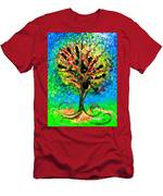 Tree Of Faith Men's T-Shirt (Athletic Fit)