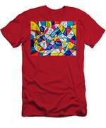 Twenty Plus Fish Triangulated Or Not Men's T-Shirt (Athletic Fit)
