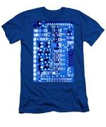 Circuit Board Men's T-Shirt (Athletic Fit)