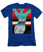 Digital Nude  Men's T-Shirt (Athletic Fit)