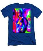 Female Alien Men's T-Shirt (Athletic Fit)