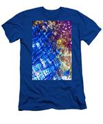 Hydroquinone Microcrystals Color Abstract Art Men's T-Shirt (Athletic Fit)
