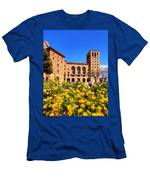 Monastery In Montserrat Men's T-Shirt (Athletic Fit)