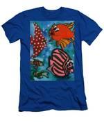 Art Fish Men's T-Shirt (Athletic Fit)