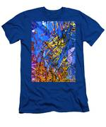 Abstract Curvy 11 Men's T-Shirt (Athletic Fit)