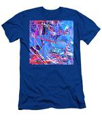 Abstract Curvy 31 Men's T-Shirt (Athletic Fit)