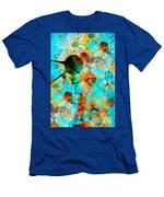 Aquarium 612-12-13 Marucii Men's T-Shirt (Athletic Fit)