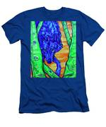 Blue Wolf Men's T-Shirt (Athletic Fit)