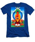 Buddha Of Infinite Light 39 Men's T-Shirt (Athletic Fit)