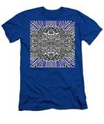 Butterfly Wings Art Nouveau  Double Mirror Image Compressed  Men's T-Shirt (Athletic Fit)