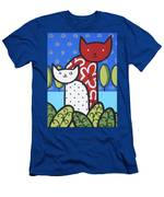 Cats 1 Men's T-Shirt (Athletic Fit)