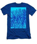 Cold Blue Men's T-Shirt (Athletic Fit)