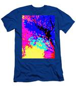 Color Of Rain Abstract Men's T-Shirt (Athletic Fit)