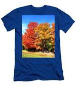 Flamboyant Autumn Men's T-Shirt (Athletic Fit)