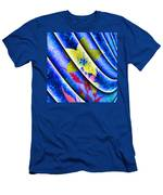 Flower Flux Men's T-Shirt (Athletic Fit)