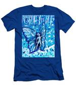 Free As Winter Snow Men's T-Shirt (Athletic Fit)