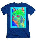 Funky Alpaca Baby Men's T-Shirt (Athletic Fit)