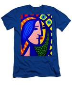 Homage To Pablo Picasso Men's T-Shirt (Athletic Fit)