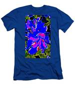 Iphone Cases Colorful Flowers The Blue Dahlia Abstract Floral Art Carole Spandau Cbs Exclusives 184 Men's T-Shirt (Athletic Fit)