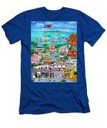 Island Daze Men's T-Shirt (Athletic Fit)