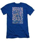 Iznik Tiles In Harem Topkapi Palace Istanbul Men's T-Shirt (Athletic Fit)