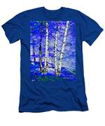 Land Of The Silver Birch Men's T-Shirt (Athletic Fit)