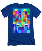 Life Is Full Of Lollipops Men's T-Shirt (Athletic Fit)