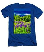 Lupines Light Men's T-Shirt (Athletic Fit)